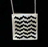 Keffiyeh Pendant Necklace