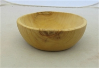 Small Olive Wood Bowl 4 inches