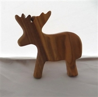 Olive Wood Toy Reindeer