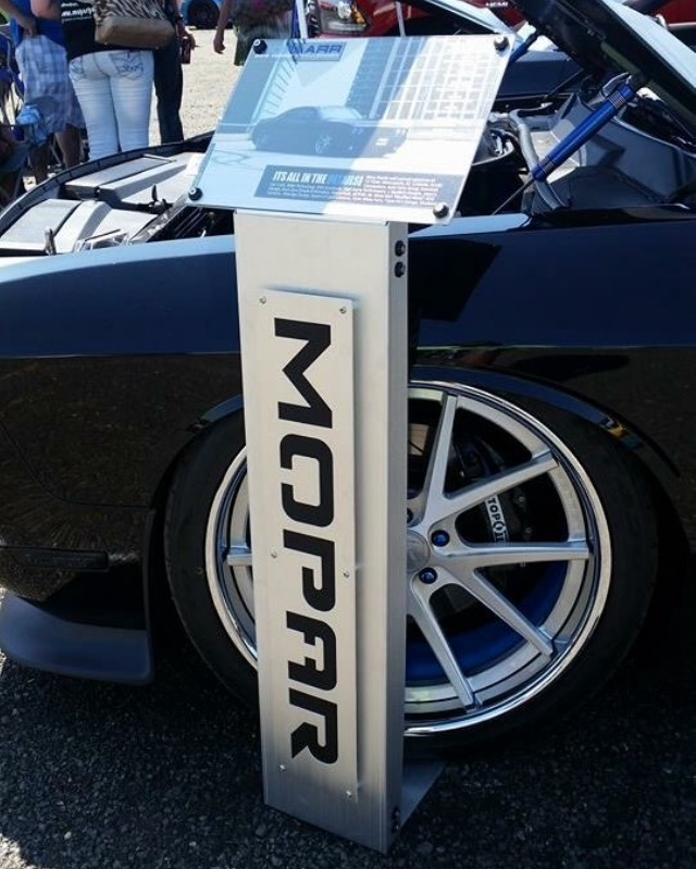 Car Show / Information Stand Sign
