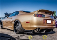 Top Secret Japan Rear Diffuser for Toyota Supra MKIV (Bolts Only)