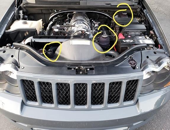 jeep wk1 reservoir covers power steering brake fluid ac condensor jeep wk1 reservoir covers power steering brake fluid ac condensor