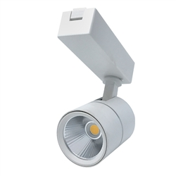 01124 | LED Track Light - White - 4000K | USALight.com