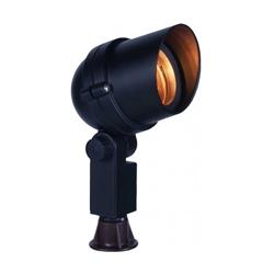 1091 Bk Orbit Mr16 Slim Bullet Hooded Bullet Light