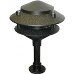 Orbit 2020-BK | Orbit Two Tier Pagoda Light - 12 volt Brown