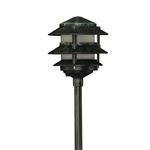 2033-F-VG | Evergreen Pagoda Light - 120v