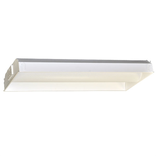 2 LAMP T8 Fluorescent Direct Indirect Troffer Fixture 2 x4 Luxury - Style Of 24 fluorescent light fixture Ideas