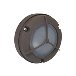 7053-BR | Orbit Mini Surface Wall Light - Bronze | USALight.com
