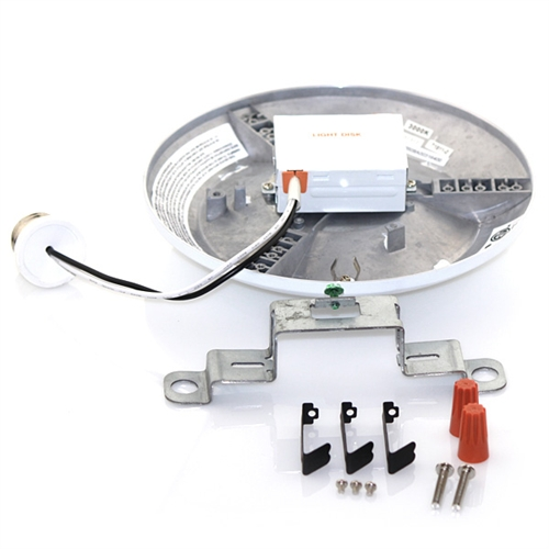 led900ld830fl120 ultra light disk led recessed and surface mount