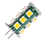 Halco 80690 JC20/2WW/LED | 2.4 Watt LED JC20 Lamp - G4 Base bi-pin led | USALight.com