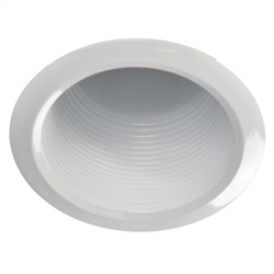 "AF401W-WH | 4"" Air Tight Baffle Trim 