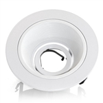 "B1401W-WH | 4"" Stepped Baffle Trim - Regressed 