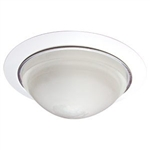"B504WH | 5"" Shower Trim - Frosted Dome Lens 