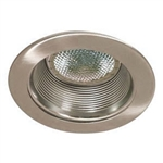 "B530SN-SN | 5"" Air Tight Stepped Baffle Trim - Satin 