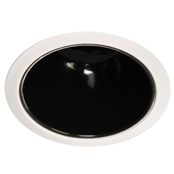 "B701-MB-WH | 6"" Ring Trim - Reflector Cone 