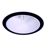 "B701W-BK | 6"" Ring Trim - Reflector Cone 
