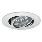 EM-202WH | Gimbal Ring Cabinet Light - MR11 White | USALight.com