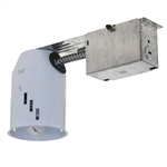 "G3R-50w-120-AT | 3"" Miniature Line Voltage GU10 MR16 Non-IC Remodel Housing 