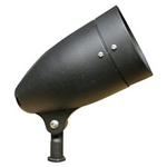 HL30BK | Evergreen Landscape Light - Black Medium Bullet Style | USALight.com