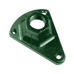 LDBASEG | Landscape Lighting Surface Mounting Bracket - Green | USALight.com