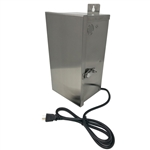 US-1023-12-SS | Stainless Steel Transformer - 150 watt - 12 VAC | USALight.com