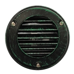 US-120VG | Maui Round Louvered Step Light - Verde Green | USALight.com