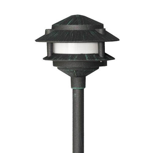 Us 140vg D Maui Two Tier Pagoda Light 12 Volt Dark Verde Green Usalight Com