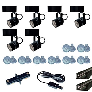 Us 258 6b trade show track lighting kit 6 piece low voltage trade show track lighting kit 6 piece low voltage aloadofball Image collections