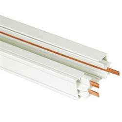 US-271W | 4' White Power Track - (Single Circuit) | USALight.com