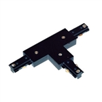 US-282B | Black T Connector Power Feed | USALight.com