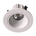 "US-LM200W-30 Dimmable 2"" Recessed LED Downlight - 9 Watt - 3000K - Smooth"