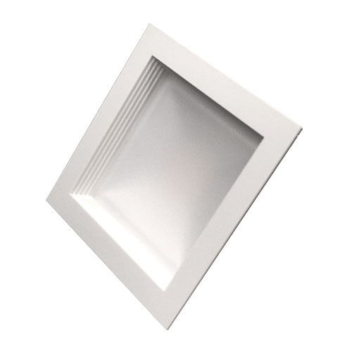 5 recessed lighting square led lights usalight since 1954 5 recessed led square downlight 16 watt 2700k baffle aloadofball Images