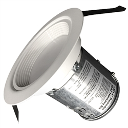"US-RQ104-LED-30K | 4"" USALight RetroQuik 10 Watt Recessed LED - Dimmable - 3000K 