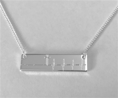 New Life Bar Necklace