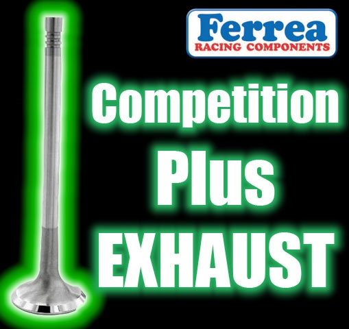 F1431P 39 mm X 112 2 mm Exhaust Ferrea Comp Plus Valves Fits: TOYOTA 2TC /  3TC / 20R / 22R