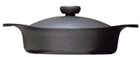 Sori Yanagi Iron Pan Shallow With Lid - 22cm