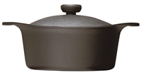 Sori Yanagi Iron Pan Deep With Lid - 22cm
