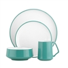 Dansk Kobenstyle Teal 4-piece Place Setting