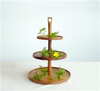Chabatree Cynosure 3 tier cake stand