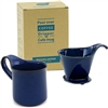 Coffee Dripper L & Cafe mug L (Multiple colors)