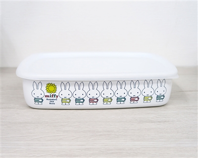HoneyWare Miffy enamel storage box (L)