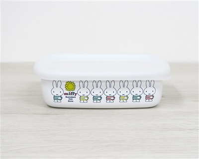 HoneyWare Miffy enamel storage box (S)