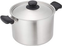 Sori Yanagi Stainless Steel (3ply) Stock pot (Deep) - 22cm