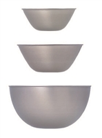 Stainless steel Mixing Bowl (Multiple sizes)