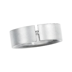 Titanium Suspension Set Diamond Band