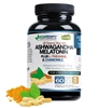 Advanced Night-Time PM - Anxiety and Stress Support with Ashwaganda, L-Theanine and Chamomile