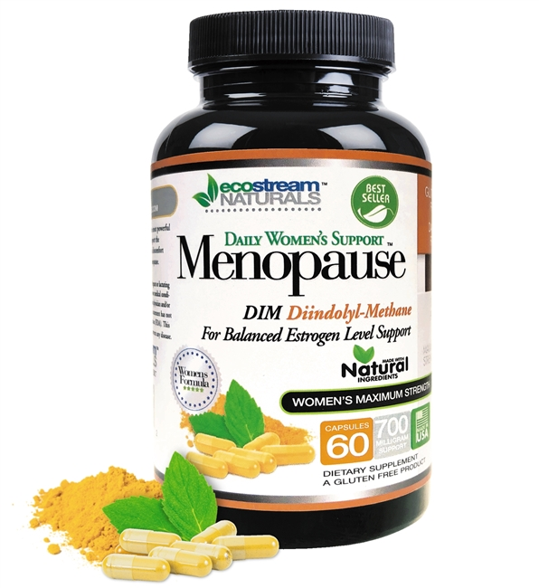 Daily Women's Support Menopause for Balanced Estrogen Level - with DIM and Dong-Quai