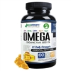 Omega 3-6-9 Blend with EPA, DHA, DPA, ALA and GLA and Organic Flax Seed Oil