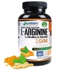 Nitric Oxide Booster L-Arginine Time Release 2,650 mg - Plus L-Citrulline and Astragin