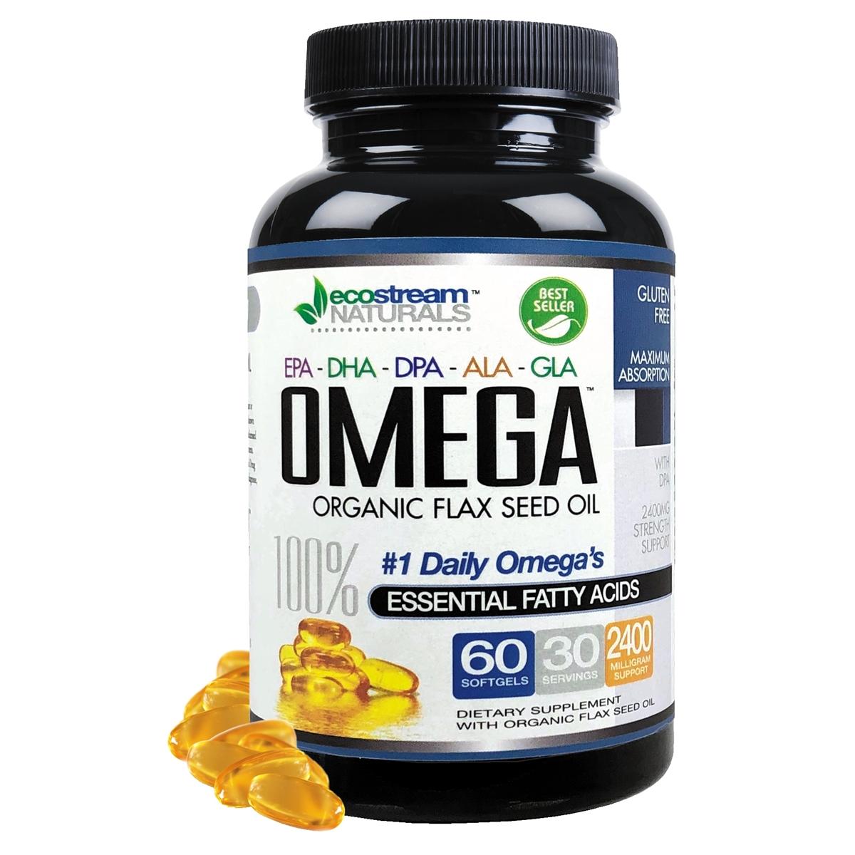 Omega 3 6 9 Blend With Epa Dha Dpa Ala And Gla And Organic Flax